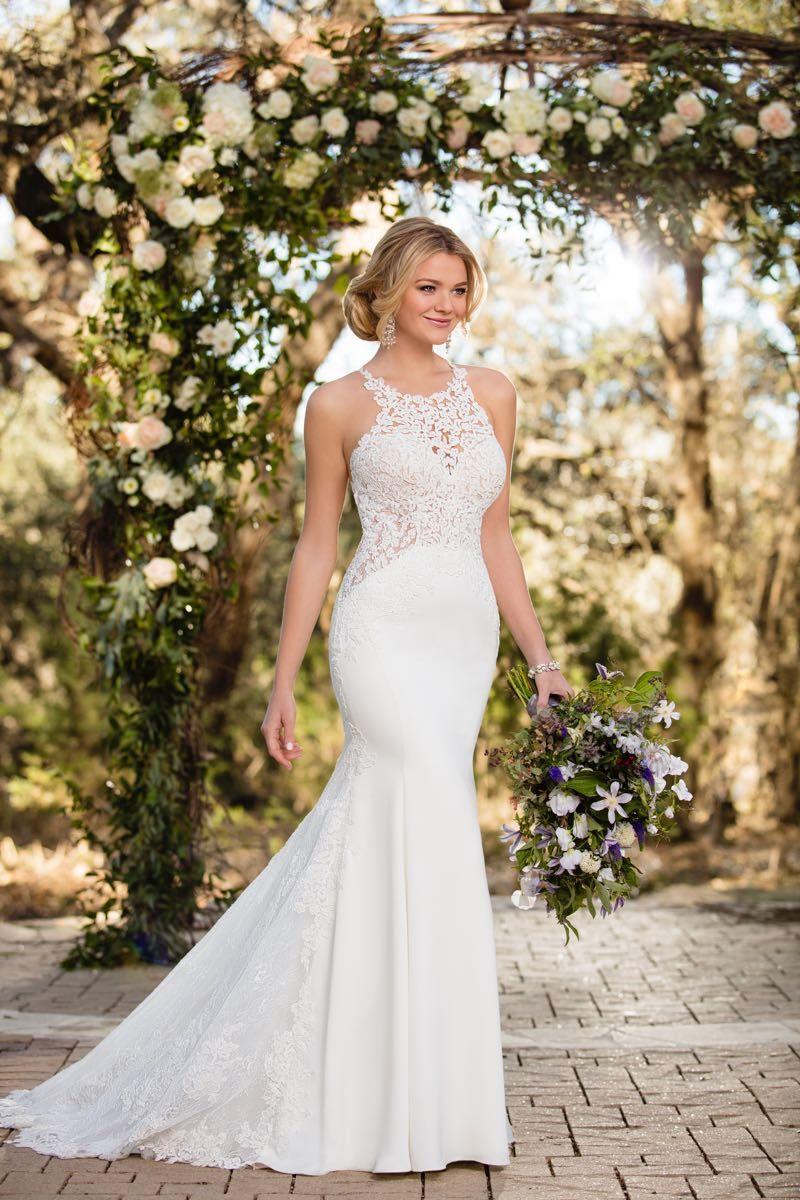 Best wedding dresses of 2018  Pure Eleganz von Essense of Australia  luxuriöse Stoffe in