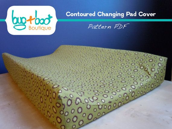 Contoured Changing Pad Cover Pattern 6060 Via Etsy Baby Custom Changing Pad Cover Pattern