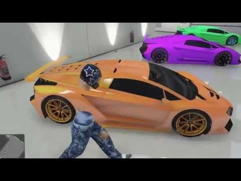Gta 5 Online My Garage Showcase Moded Crew Colors Zentorno Car