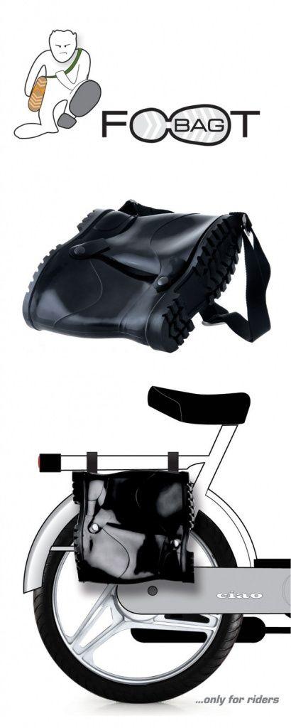 Rubber boots bag