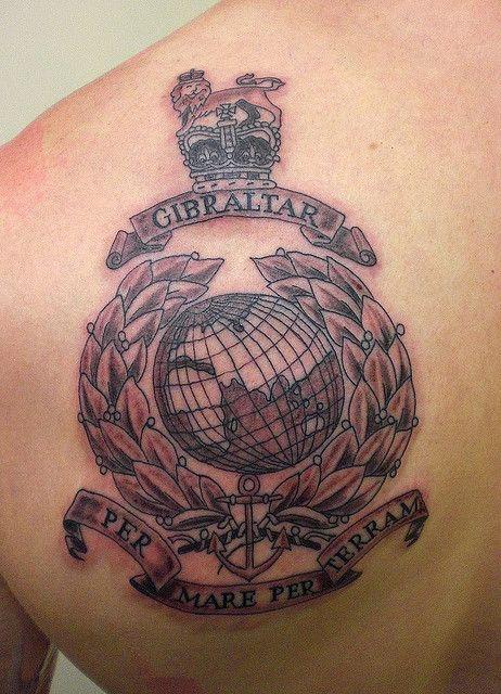royal marines commando tattoo and tattoo designs. Black Bedroom Furniture Sets. Home Design Ideas