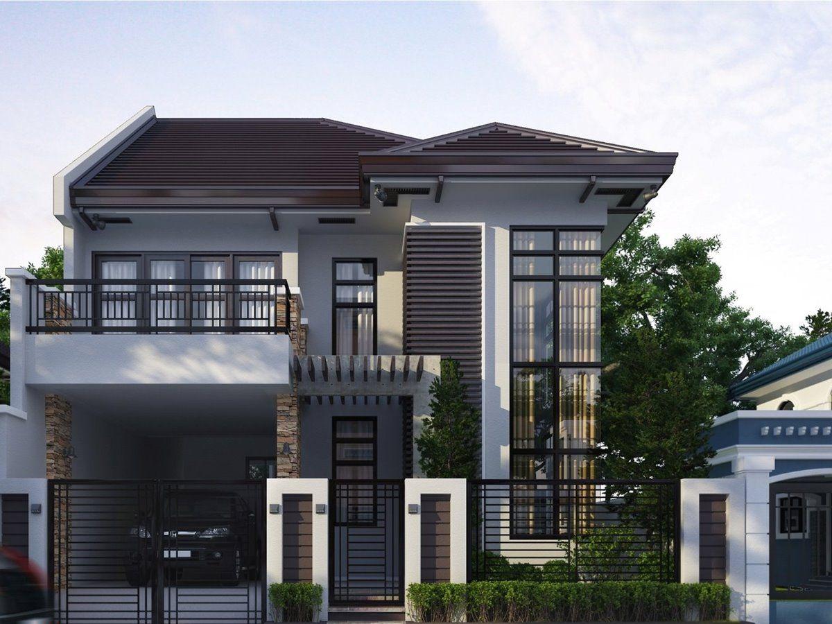 Modern House Designs Minecraft Tutorial Fachadas De Casas