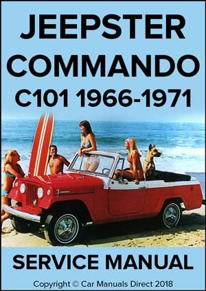jeepster commando 1966 1971 service manual pinterest rh pinterest com jeep commando service manual 1972 jeepster commando service manual
