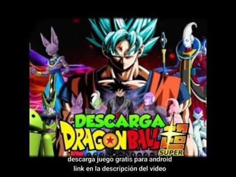 Descarga El Nuevo Juego De Dragon Ball Super Para Android Youtube