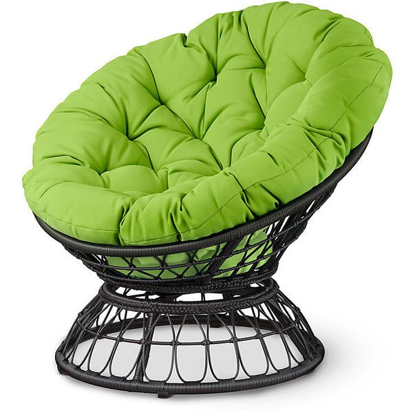 Fabulous Improvements Papasan Swivel Patio Chair Light Green 150 Gmtry Best Dining Table And Chair Ideas Images Gmtryco