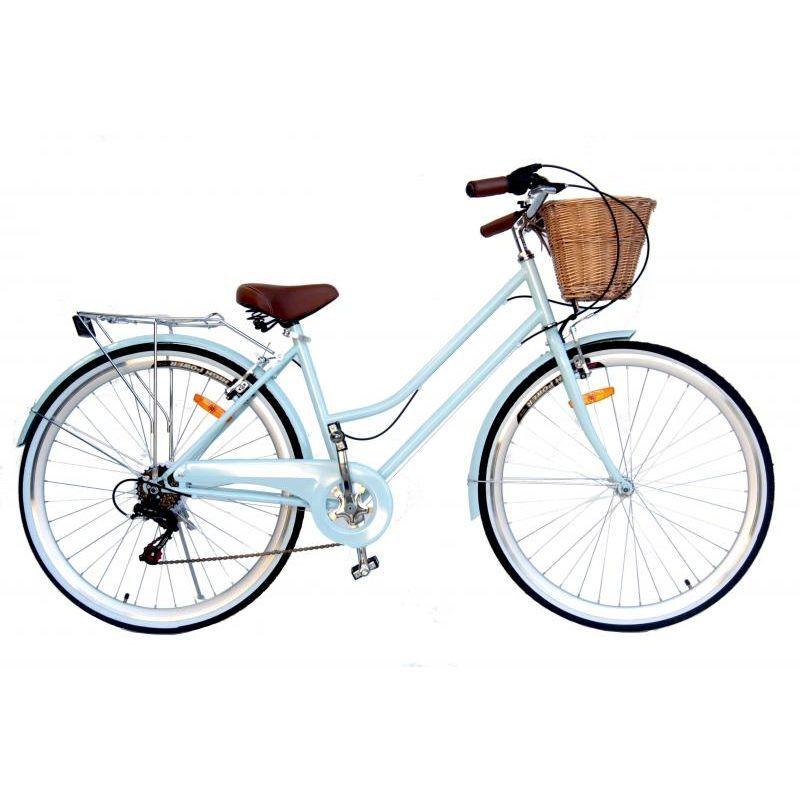 Vintage Retro Ladies Bicycle W Basket In 7 Colours Bicycle Women