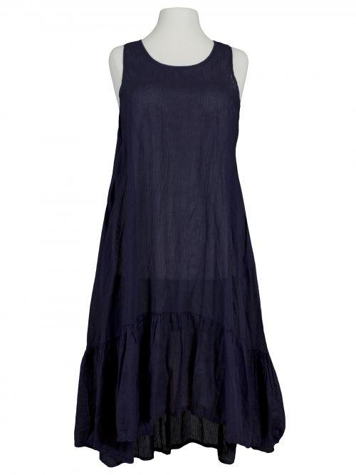 Damen Baumwollkleid, blau von Diana bei www.meinkleidchen.de