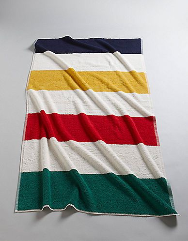 Hbc Collections Home Extra Thick Striped Beach Towel Hudson S