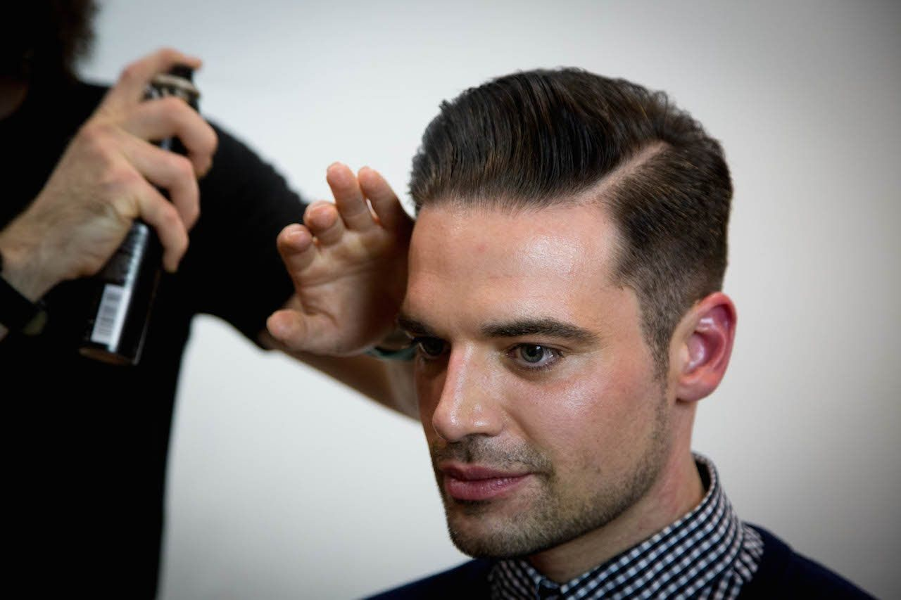How To Cut A Pompadour Haircut Tutorial Video On Cutting And