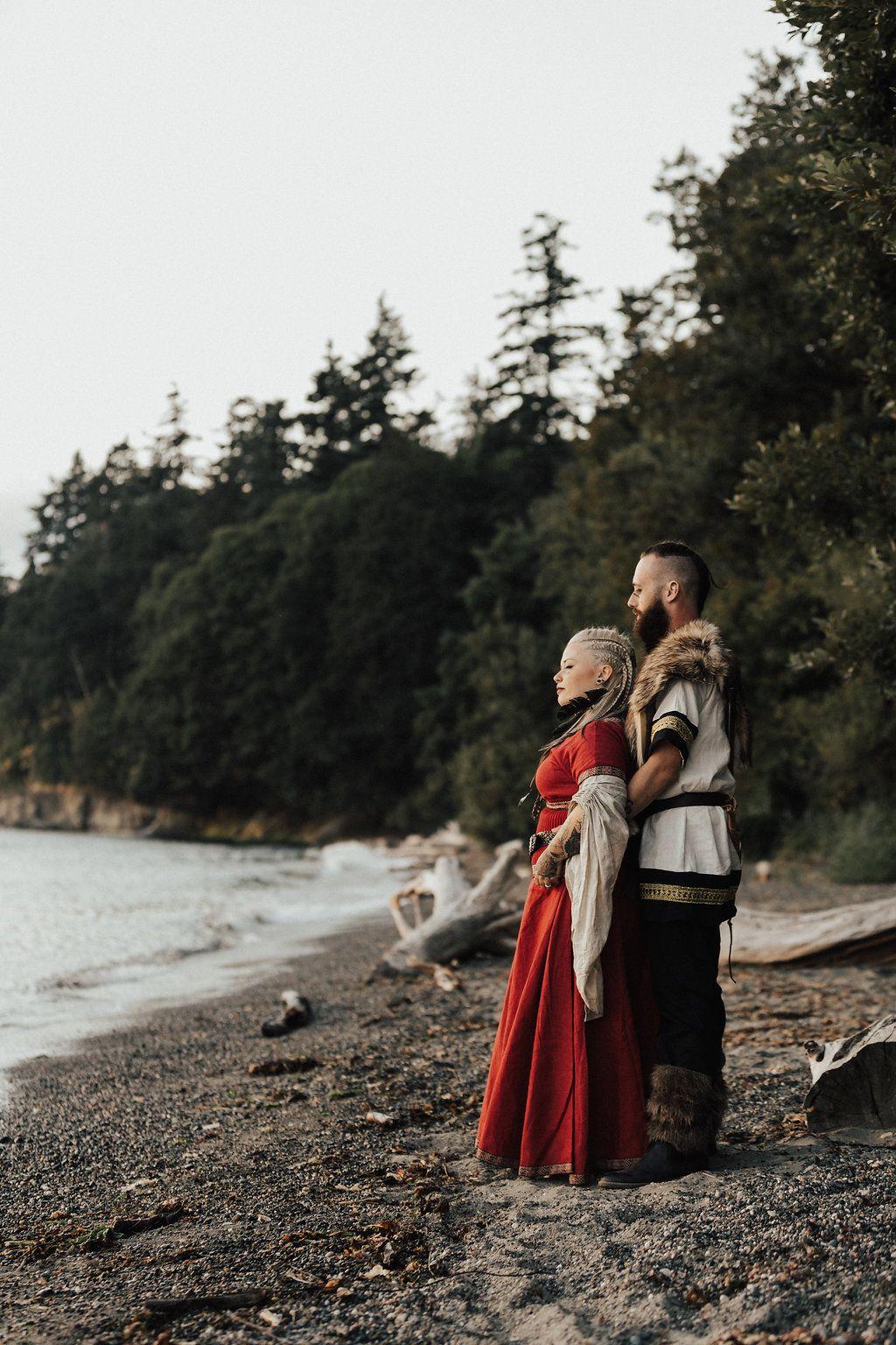 Norse Pagan & Viking Themed Wedding · Rock n Roll Bride