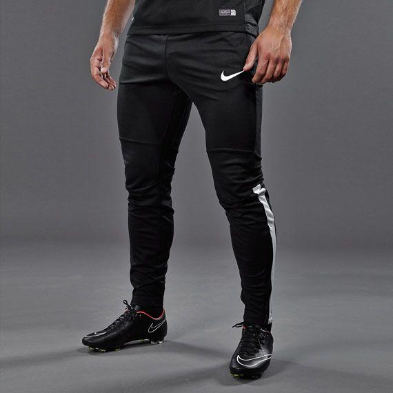 Nike Squad Strike Tech Pants WPWZ - Mens Apparel - Black/White