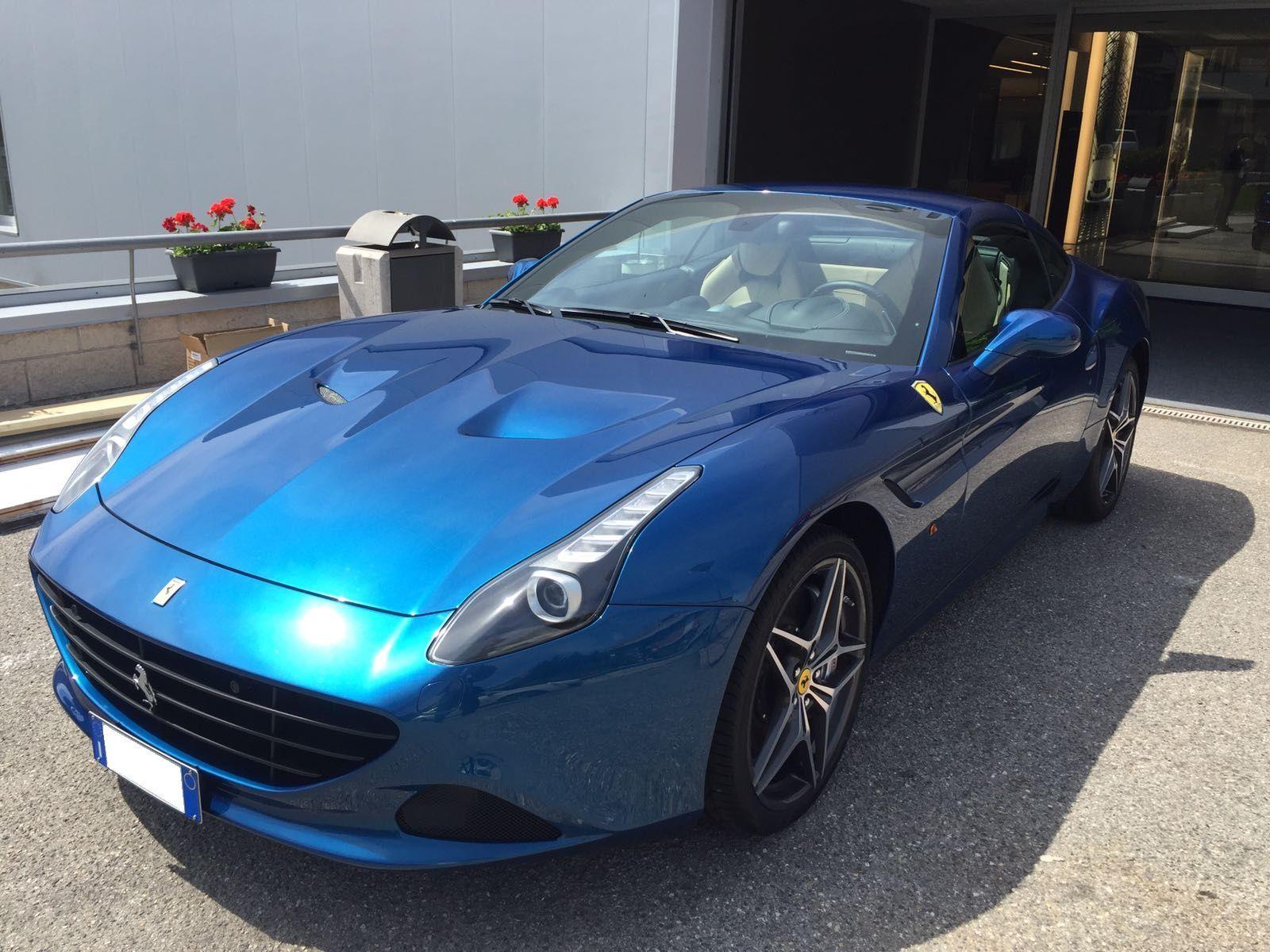 Ferrari California | Blue | #rent #ferrari #california # ...
