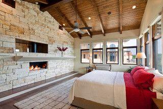 Waterfront Luxury Home on Lake Travis - mediterranean - bedroom - austin - by Jenkins Custom Homes