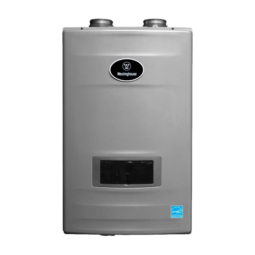 Westinghouse 11 Gpm High Efficiency Natural Gas Tankless Water Heater With Built In Recirculation And Pump Wgrghng199 In 2020 Gas Water Heater Tankless Water Heater Tankless Water Heater Gas