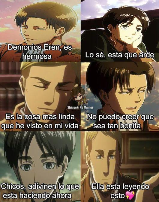 Memes Snk7w7 Shingeki No Kyojin Espanol Shingeki No Kyojin