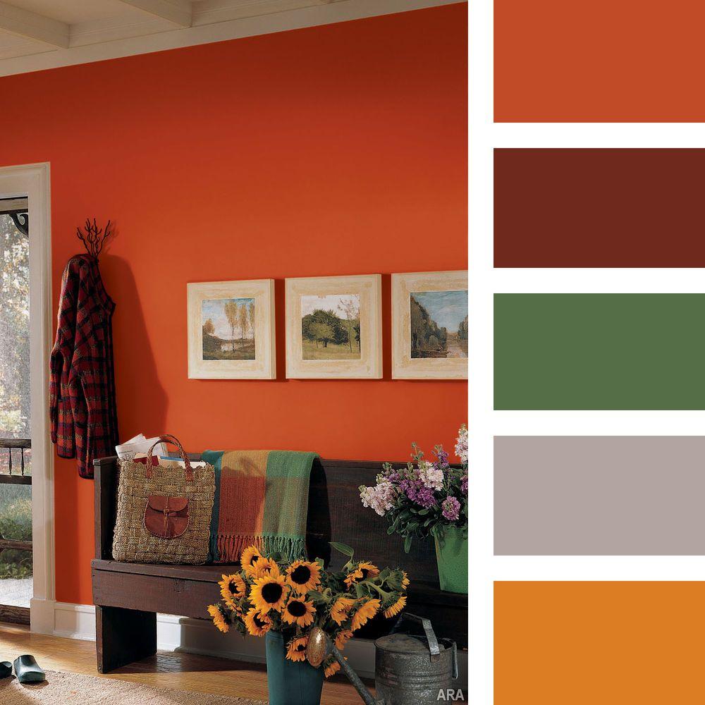 терракотовый цвет сочетание с другими цветами жанре нуар беги