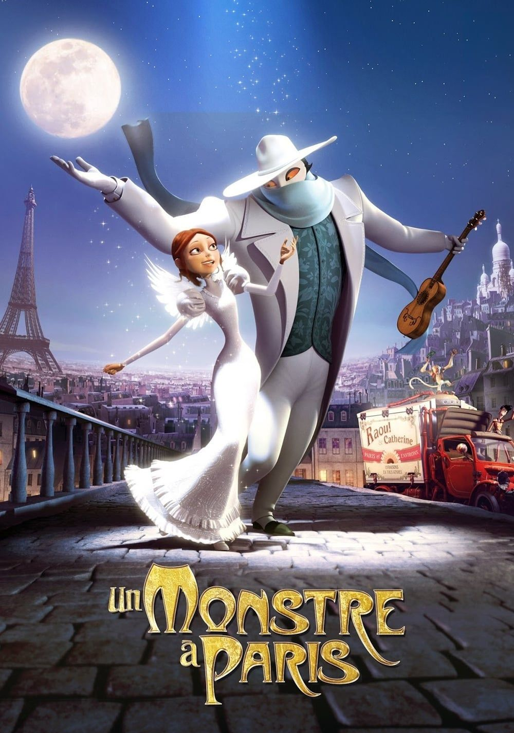 Film D'animation Streaming Vf : d'animation, streaming, Monstre, Paris, Complet, Français, Streaming, Animated, Movies,, Movie,, French, Movies
