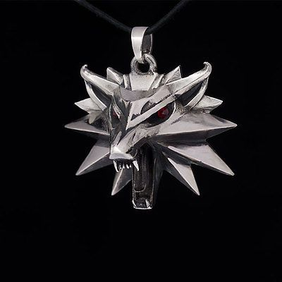 Mark 2 The Witcher 3  medallion pendant sterling silver
