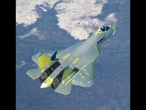 Amazing T-50 Russia's 5TH Gen Stealth Fighter