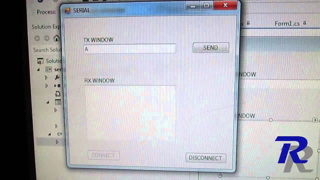 Create your own Serial Port Communication Software Using