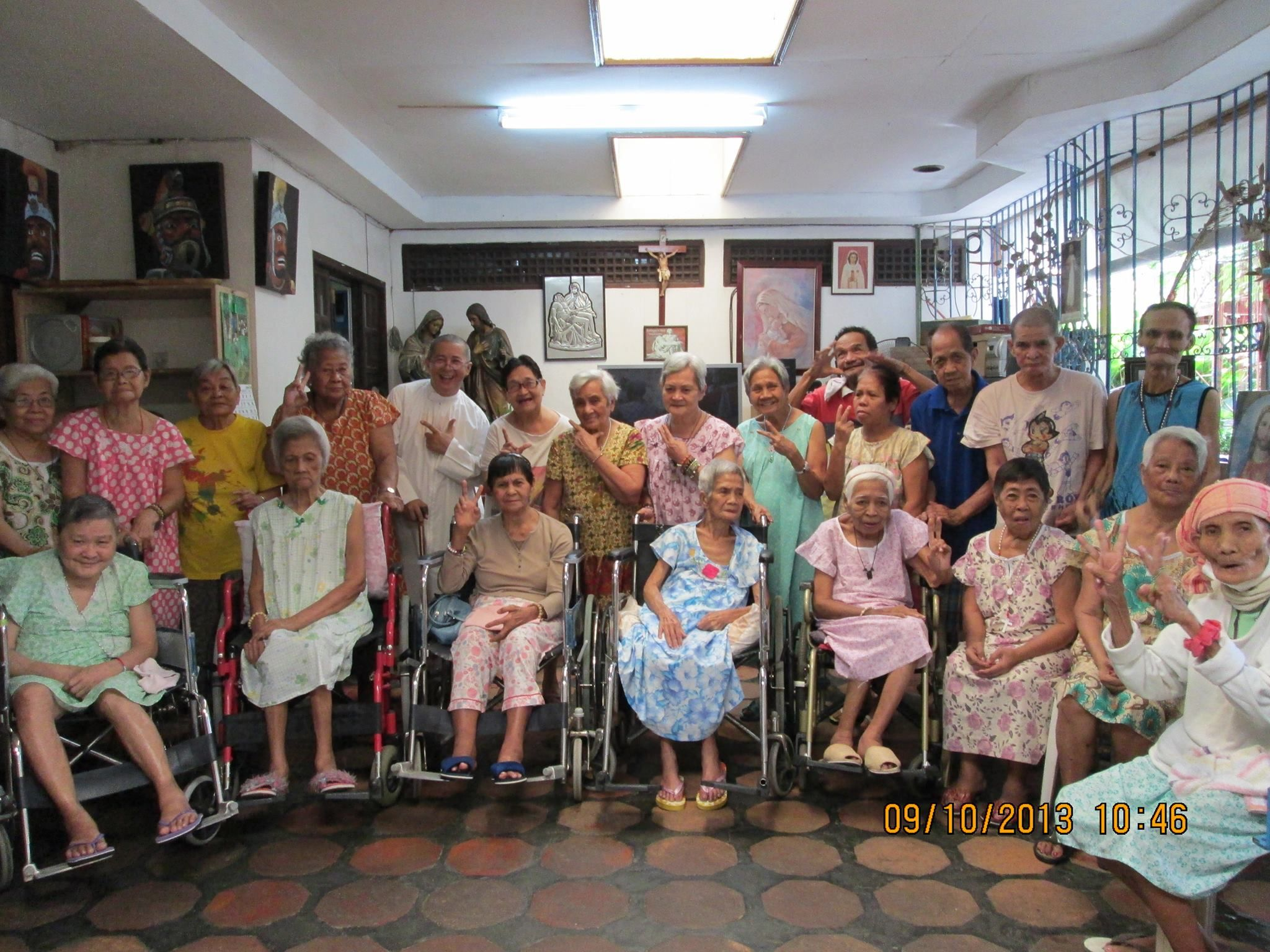 Kanlungan ni maria a home for the aged nursing homes