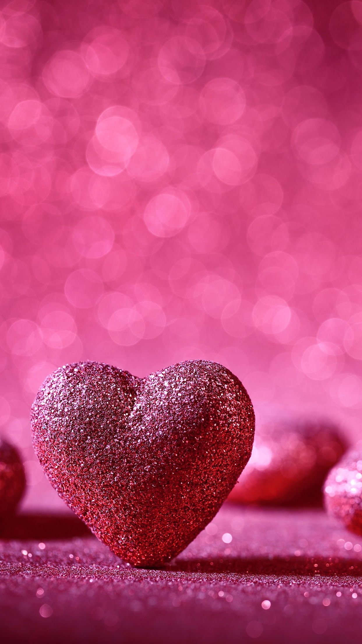 Hd Mobile Wallpaper Glitter Heart Pop Out Pinterest Sfondi