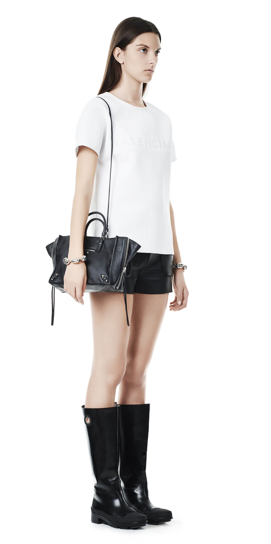 Balenciaga Papier A6 Zip Around Black - Women s Cross Body Bag ... b35bd4478e9b8