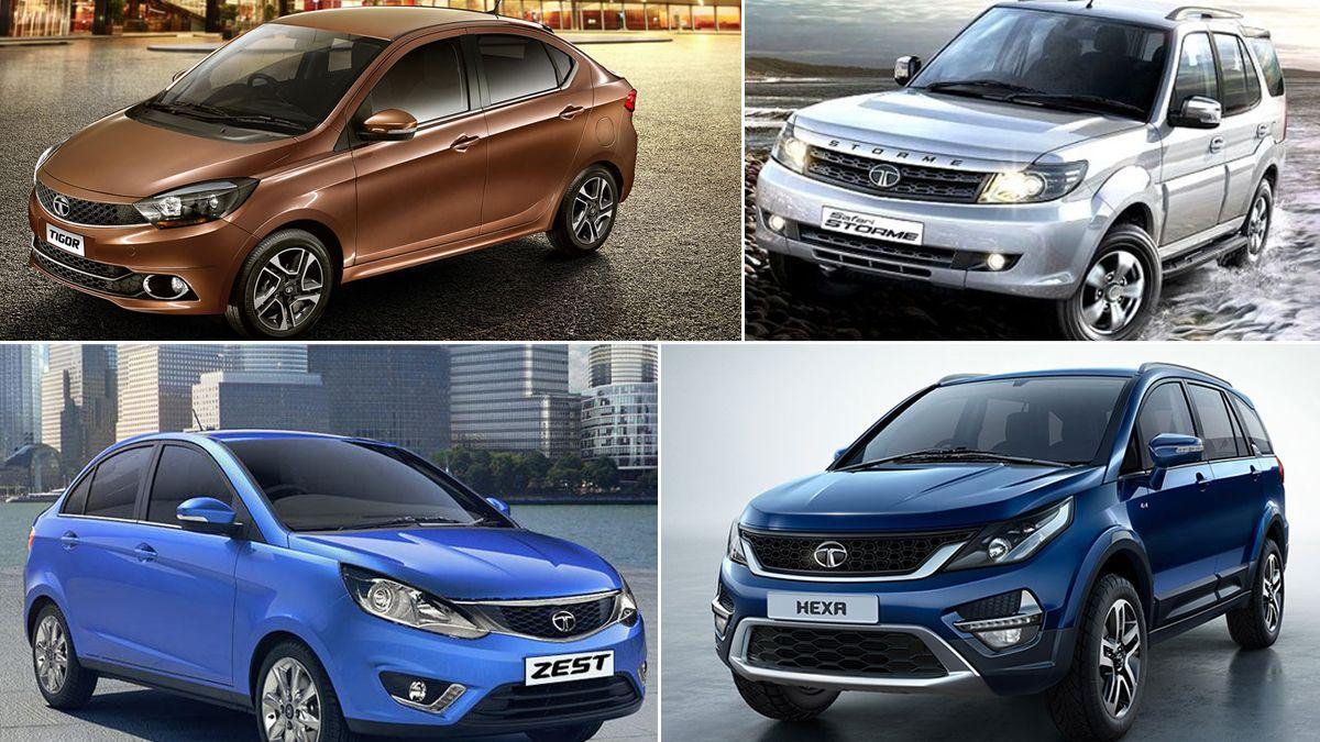 TATA Offers Huge YearEnd Discounts Tata cars, Tata