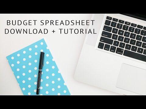 Google Spreadsheet Budget Tutorial - A Clean Bee Learn it Pinterest - google spreadsheet budget