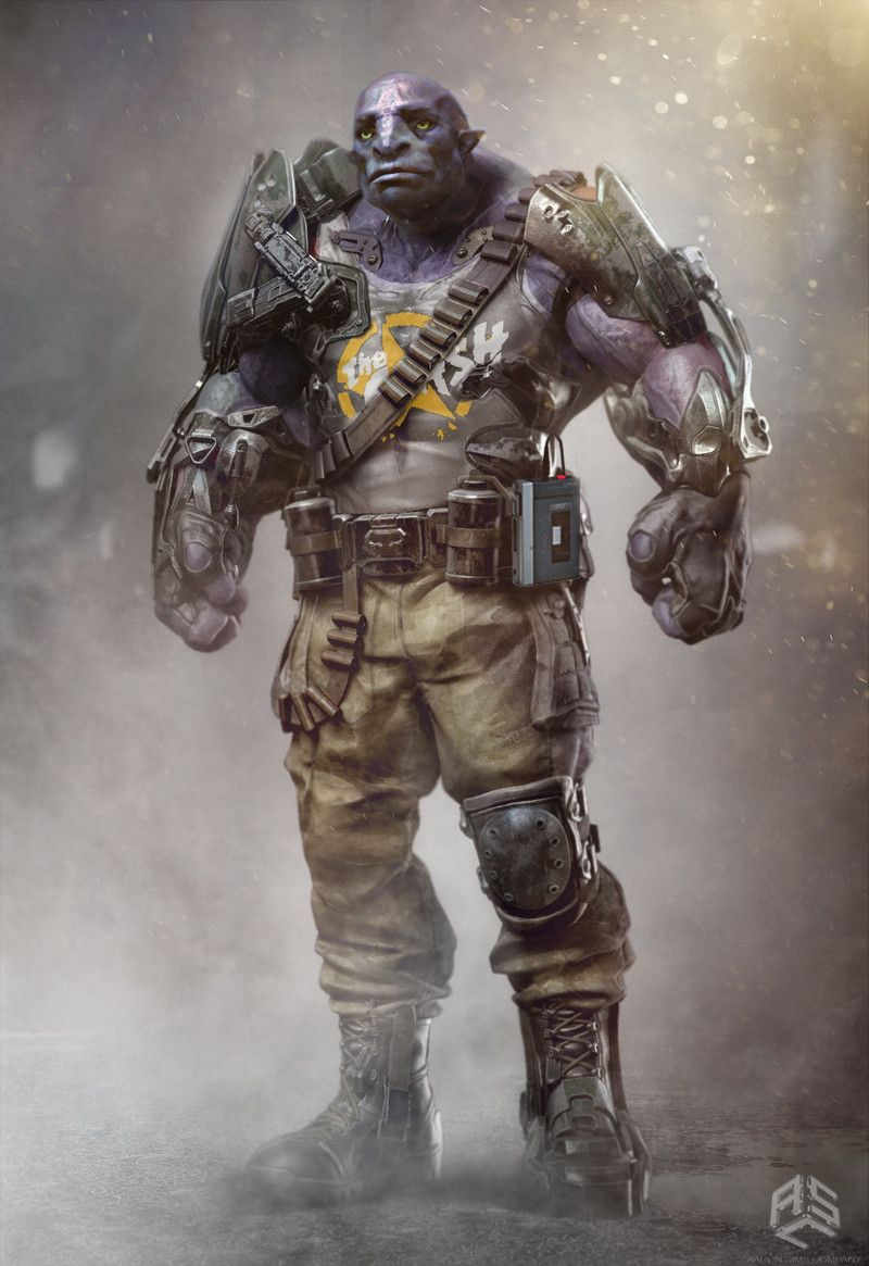 ArtStation - Ready player one - Concept art, Valentin Petrov