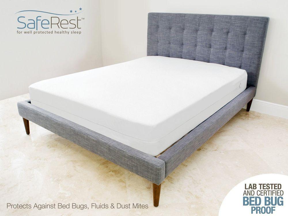 Allergen Mattress Protector Cover Full Waterproof Bedbug Proof Mattress Encasement Mattress Premium Mattress