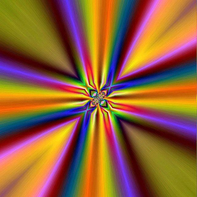 Rainbows Of Heaven Fractal Art Rainbow Colors World Of Color