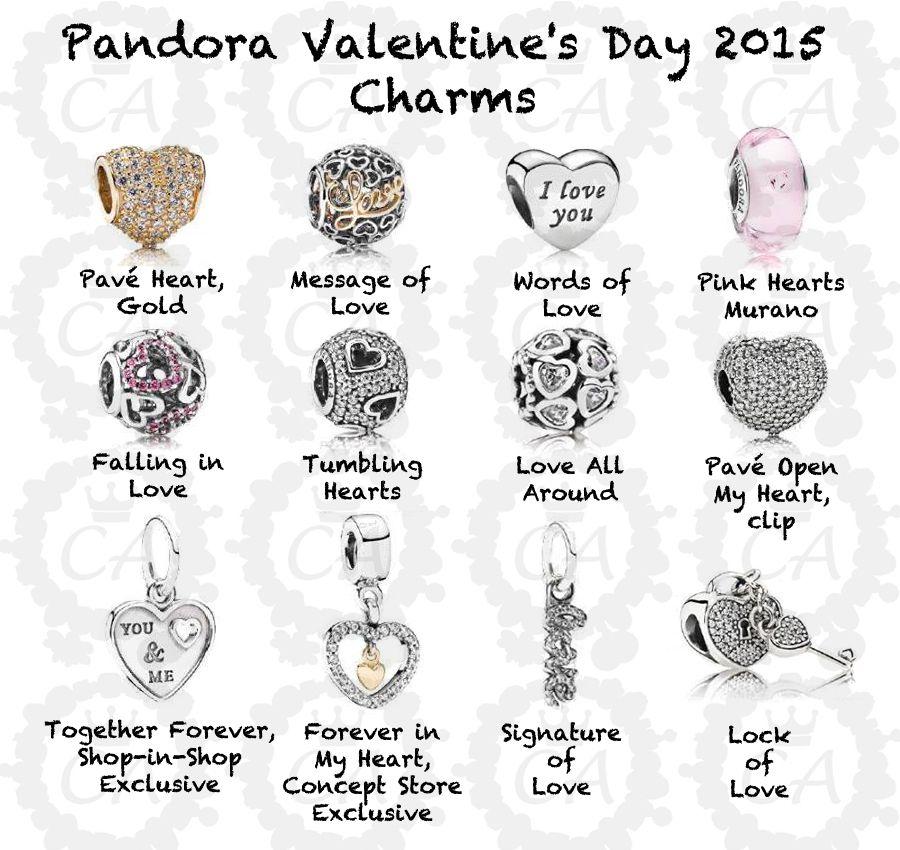 explore pandora pandora pandora beads and more - Valentines Pandora Charms