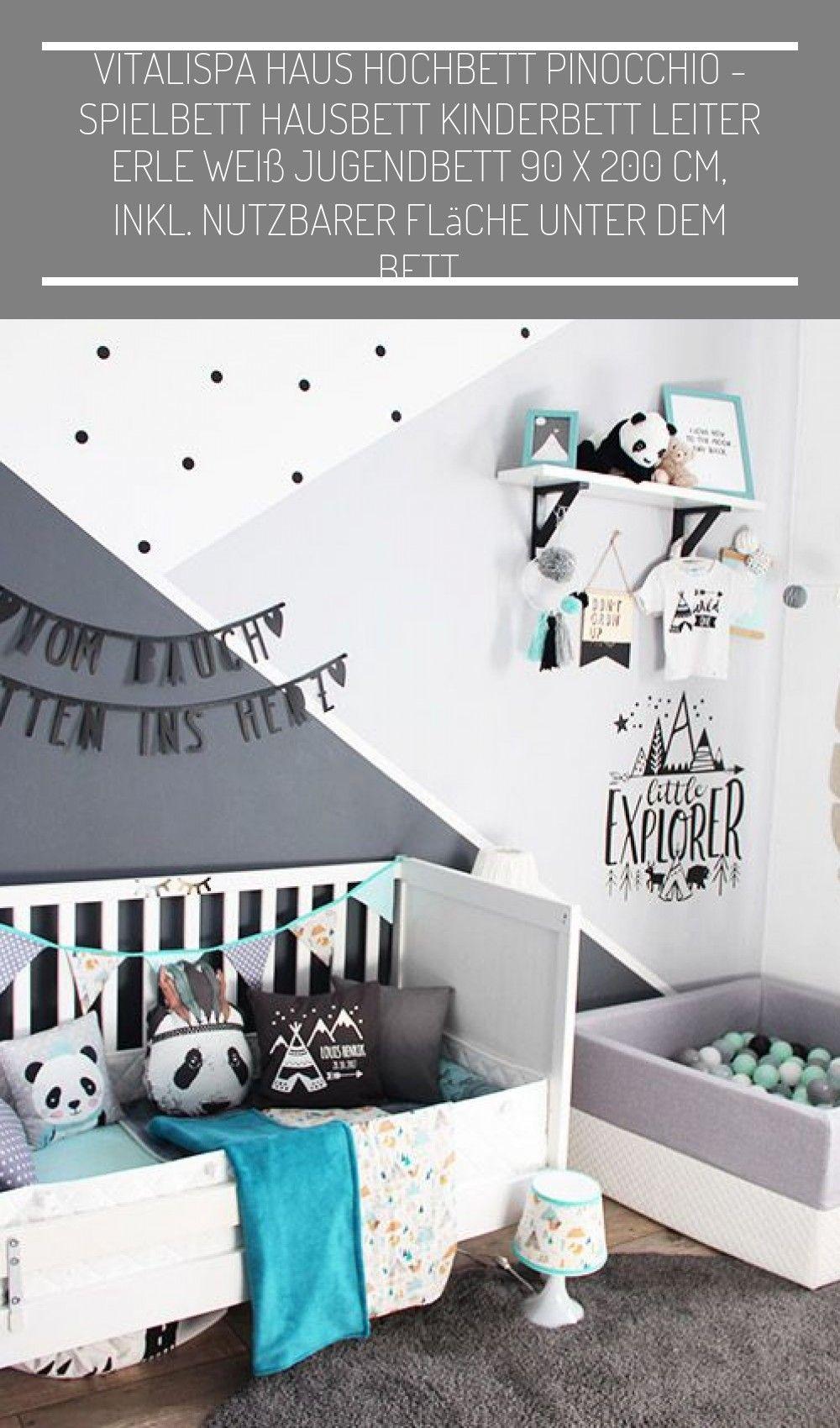 Kinderzimmergestaltung für ein Baby im wild one Stil