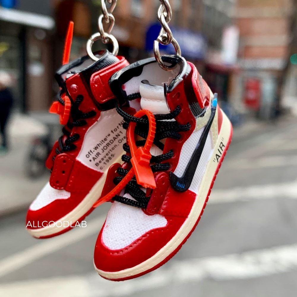 Off White Air Jordan 1 Chicago Red Air Jordans Jordans Jordan