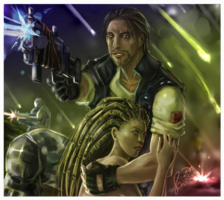 Starcraft: Raynor and Kerrigan | Starcraft, Starcraft 2