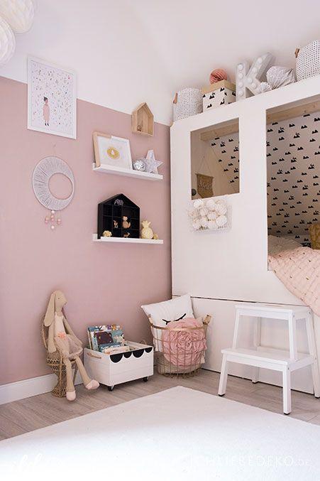 Diy kojenbett f rs kinderzimmer frieda girls bedroom for Kinderbett kleines zimmer