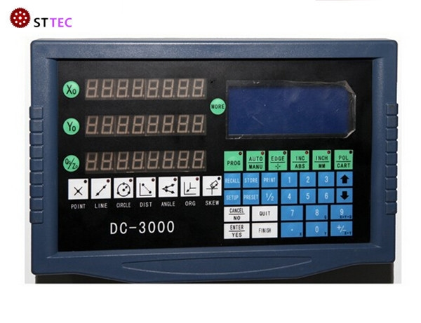 253.30$  Buy here - http://alizcq.worldwells.pw/go.php?t=32240004958 - Free shipping high precision profile projector digital readout DRO DC-3000 253.30$
