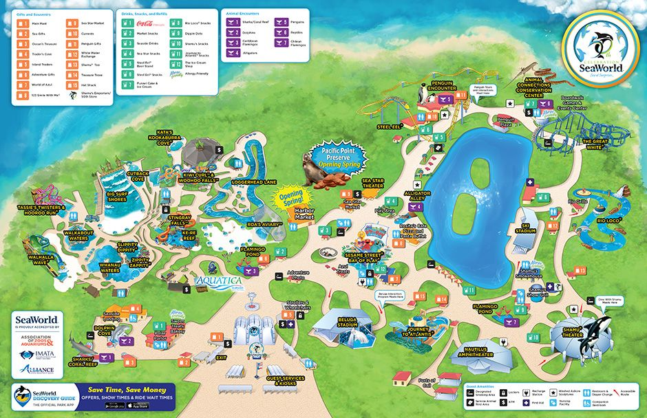 seaworld map san antonio Seaworld Park Map Seaworld San Antonio San Antonio Sea World seaworld map san antonio