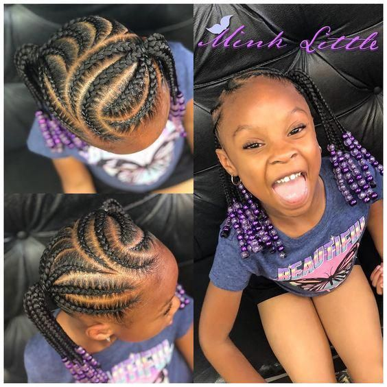 Exclusive Stunning Braided Hairstyles For Kids #girlhairstyles
