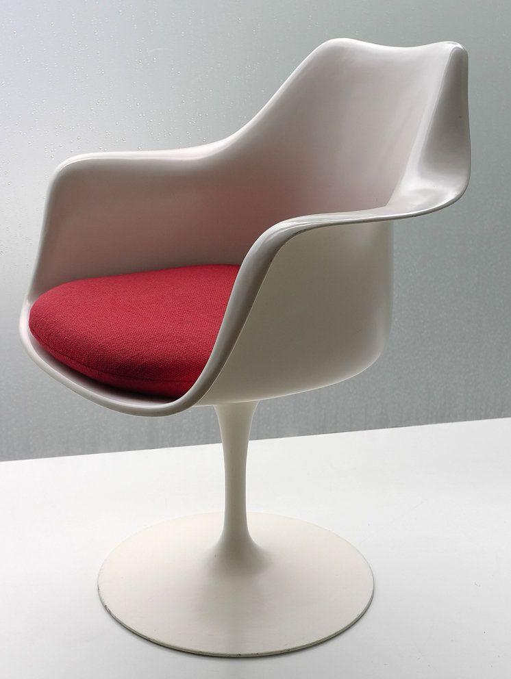 Saarinen Tulip Arm Svivel Chair By Knoll Int By Eero Saarinen For Sale Arredamento Design Sedie
