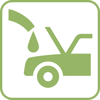 Bil, Grønt, Olje, Gass, Bensin
