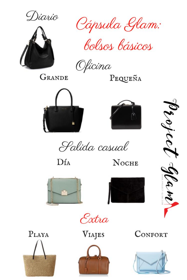 the best attitude 79dfa 38e0f Cápsula Glam  bolsos básicos — Project Glam