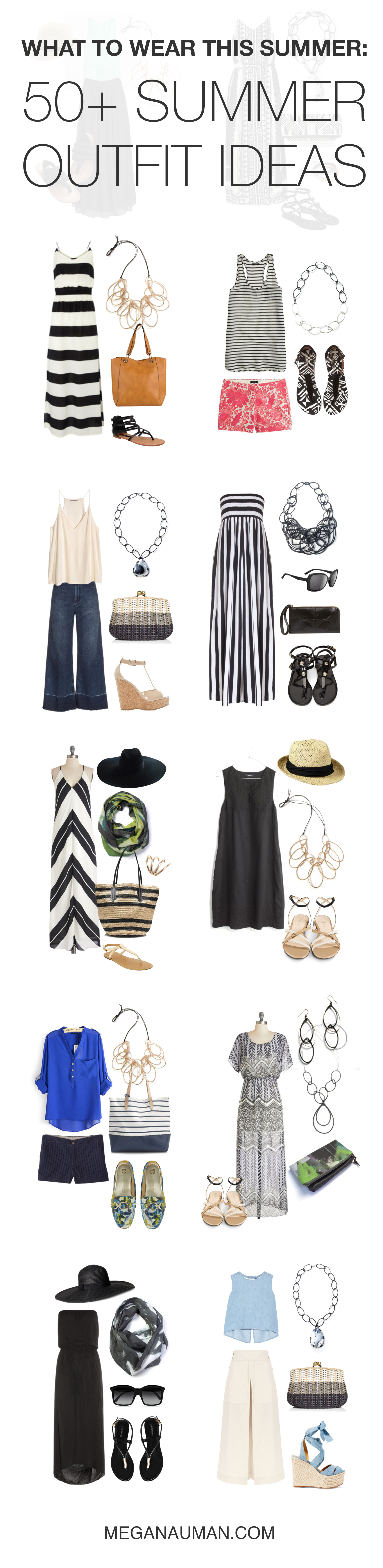 what to wear this summer 50+ summer outfit ideas (for
