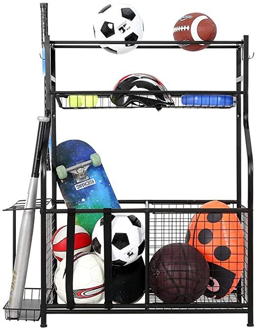 snail garage sports equipment storage
