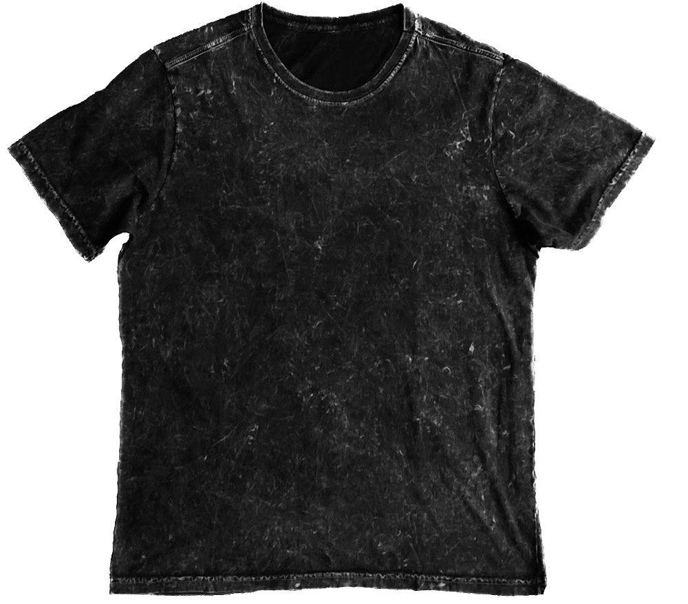Camiseta estonada preto marmorizado sem etiqueta e sem estampa ... 05482ac1880