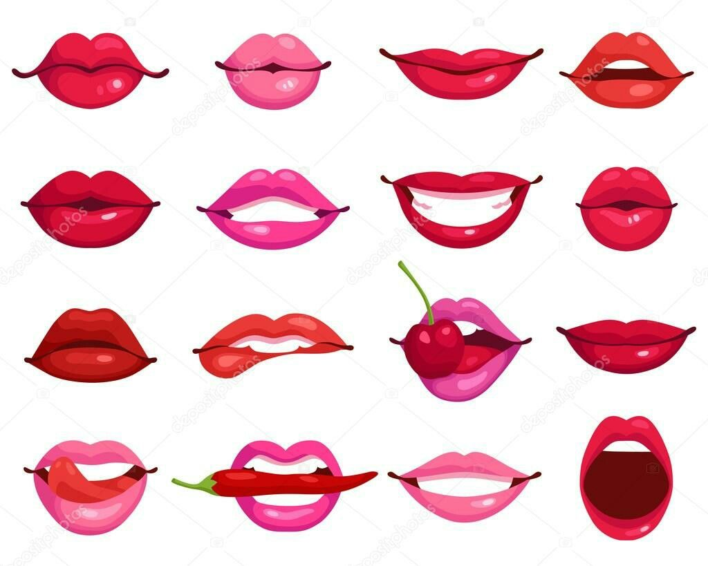 Pin By Gladys Tokaya On Sketchi Idei Lips Drawing Lips Cartoon Cartoon Drawings