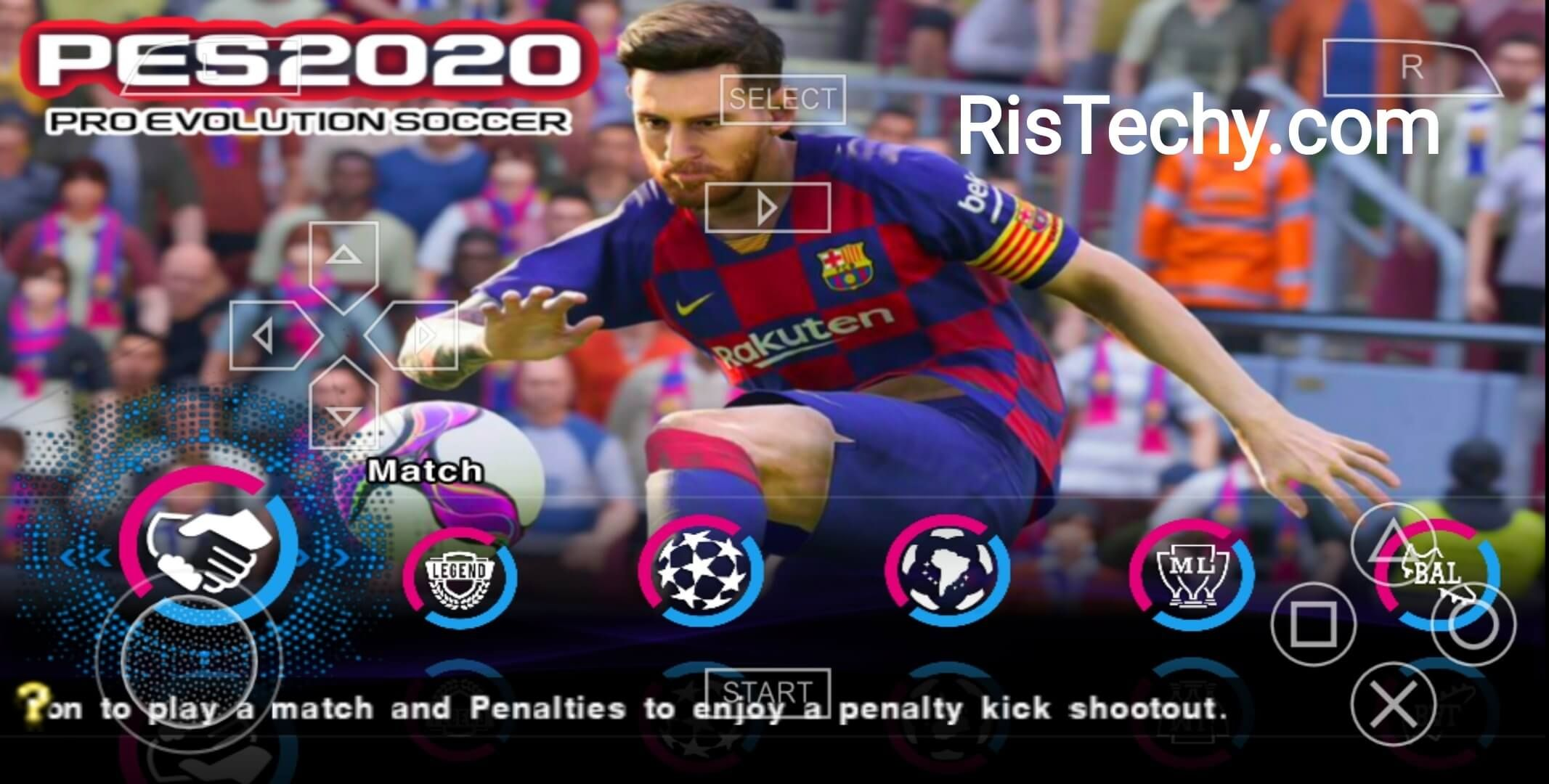 Download Pes 2020 Lite 500 Mb Ppsspp Psp Iso Save Data And