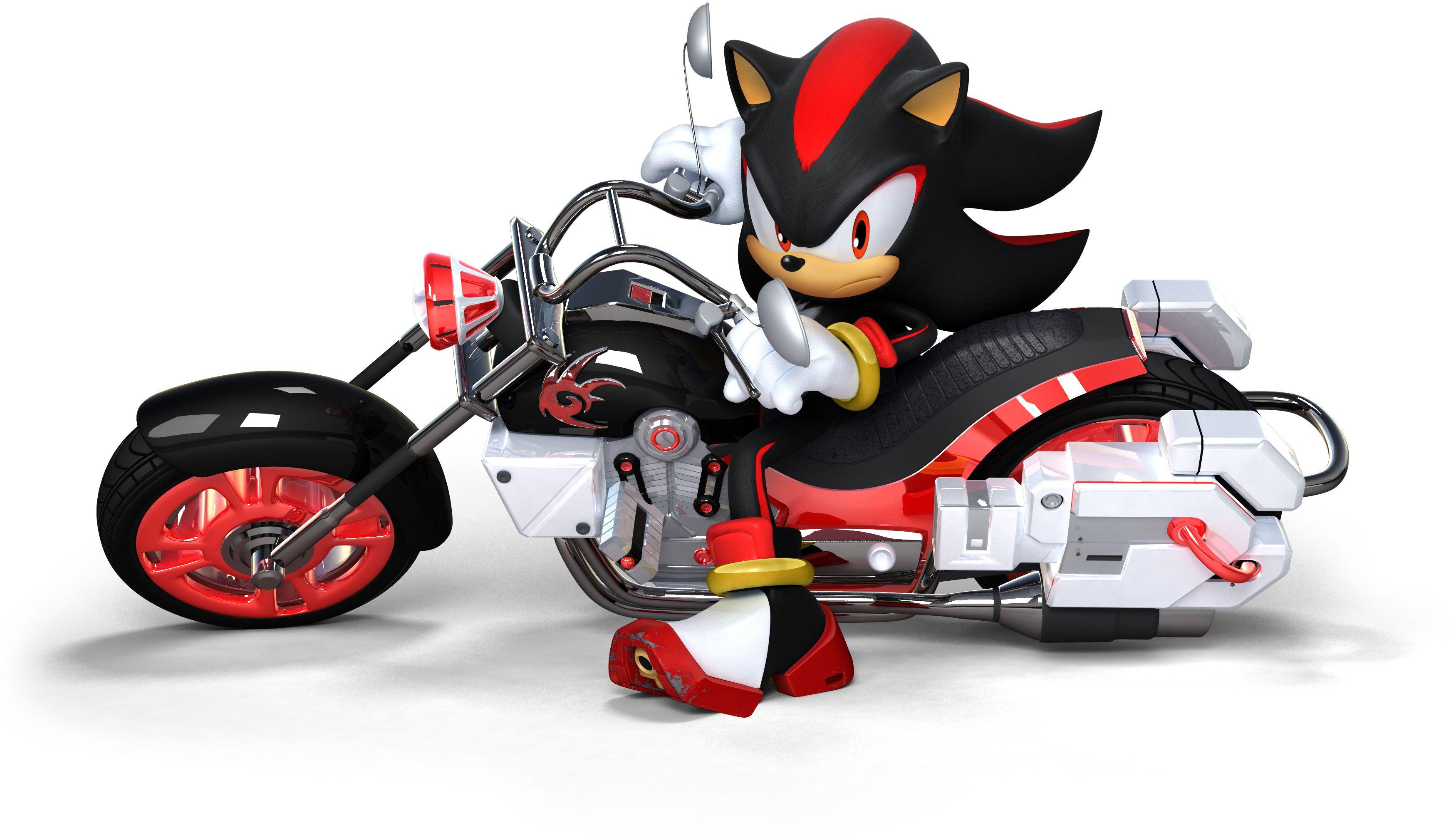 Dark Rider Shadow The Hedgehog Sonic And Shadow Sonic
