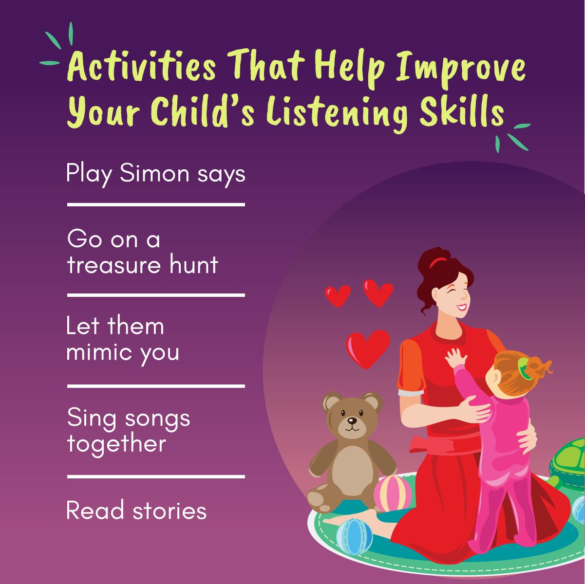 Activities That Help Improve Your Child S Listening Skills
